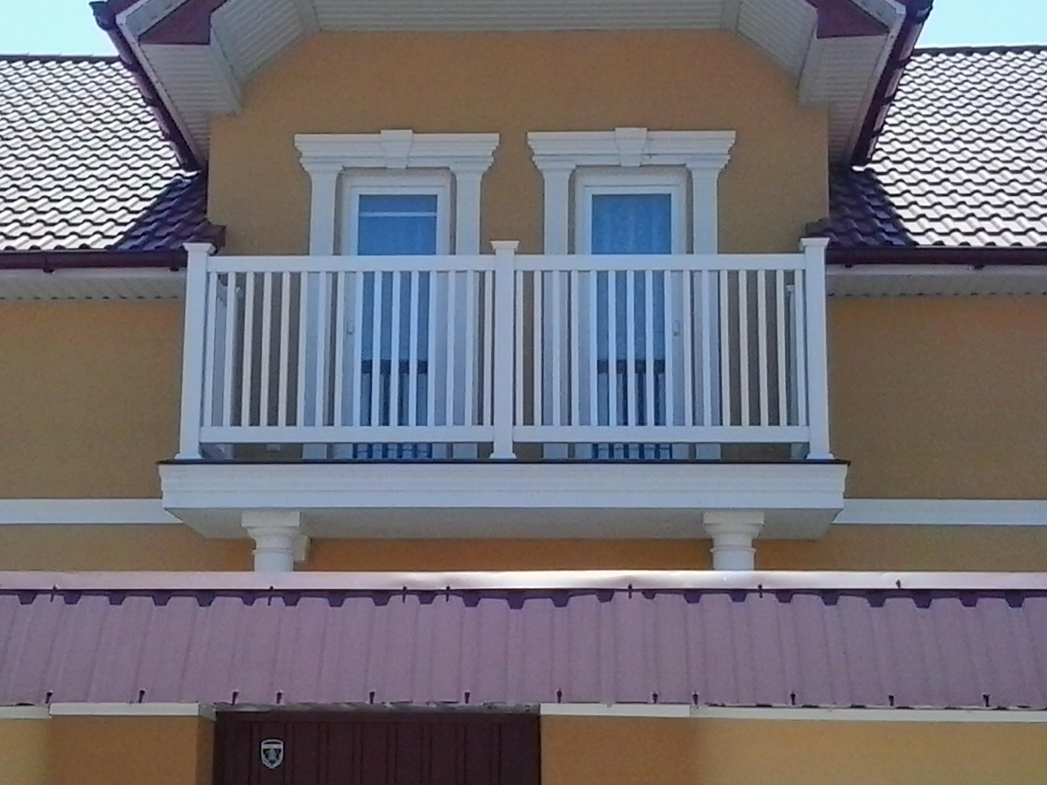 Ограждения из пвх для балконов..